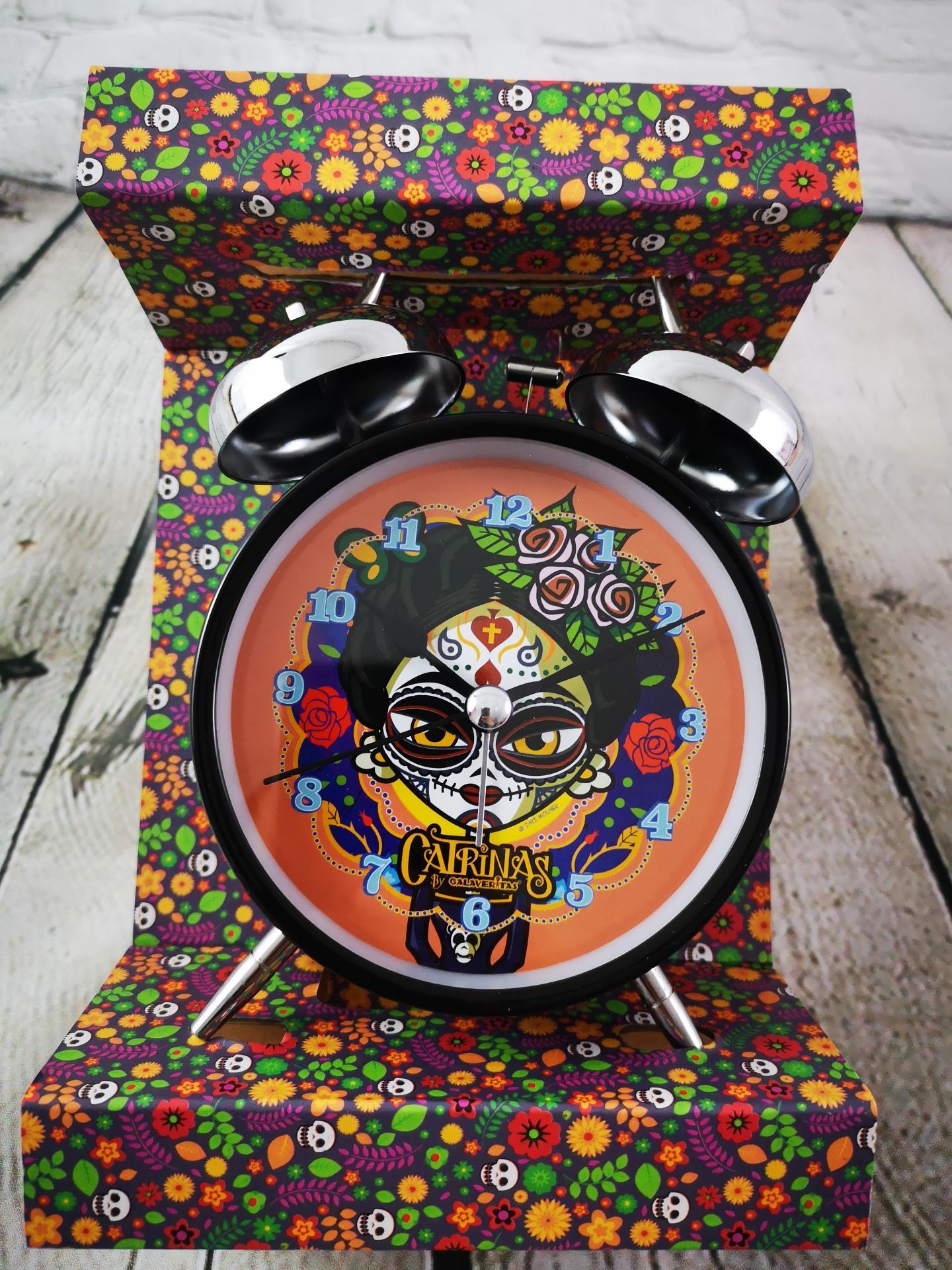 Reloj despertador catrinas