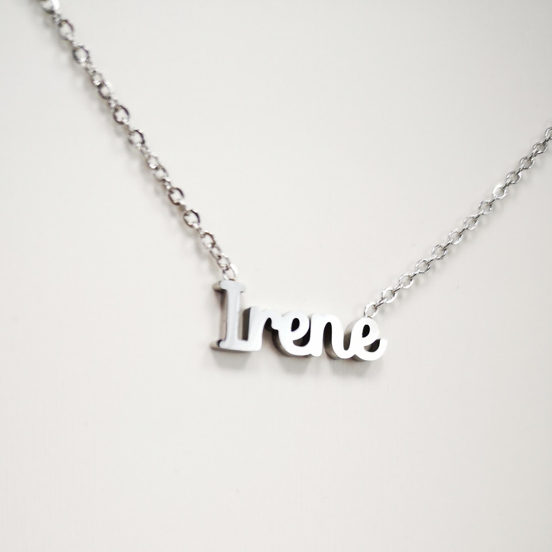 Collar con nombre Irene barato