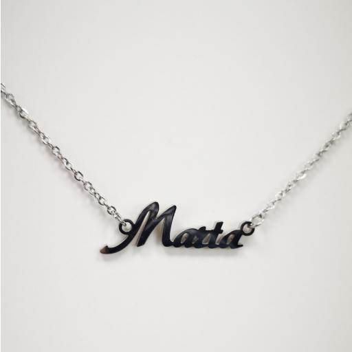 Collar con nombre Marta barato [1]