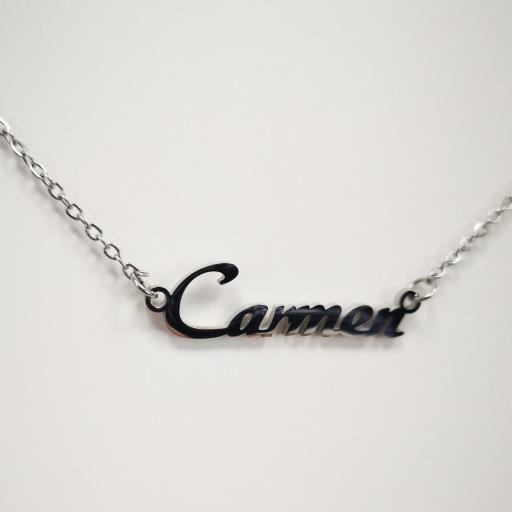 Collar personalizado con nombre Carmen [1]