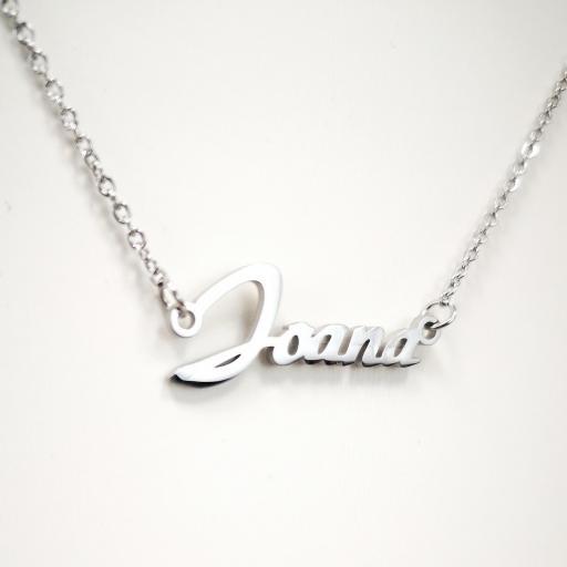 Collar personalizado con nombre barato