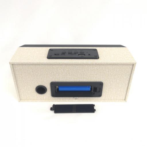 Radio Altavoz Bluetooth Digital Led , Radio FM, MicroSD, USB [3]