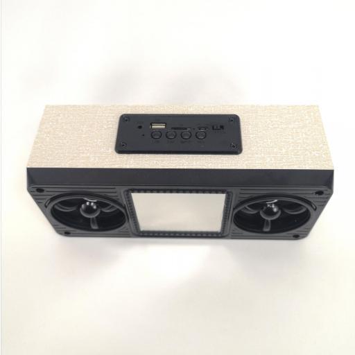 Radio Altavoz Bluetooth Digital Led , Radio FM, MicroSD, USB [1]