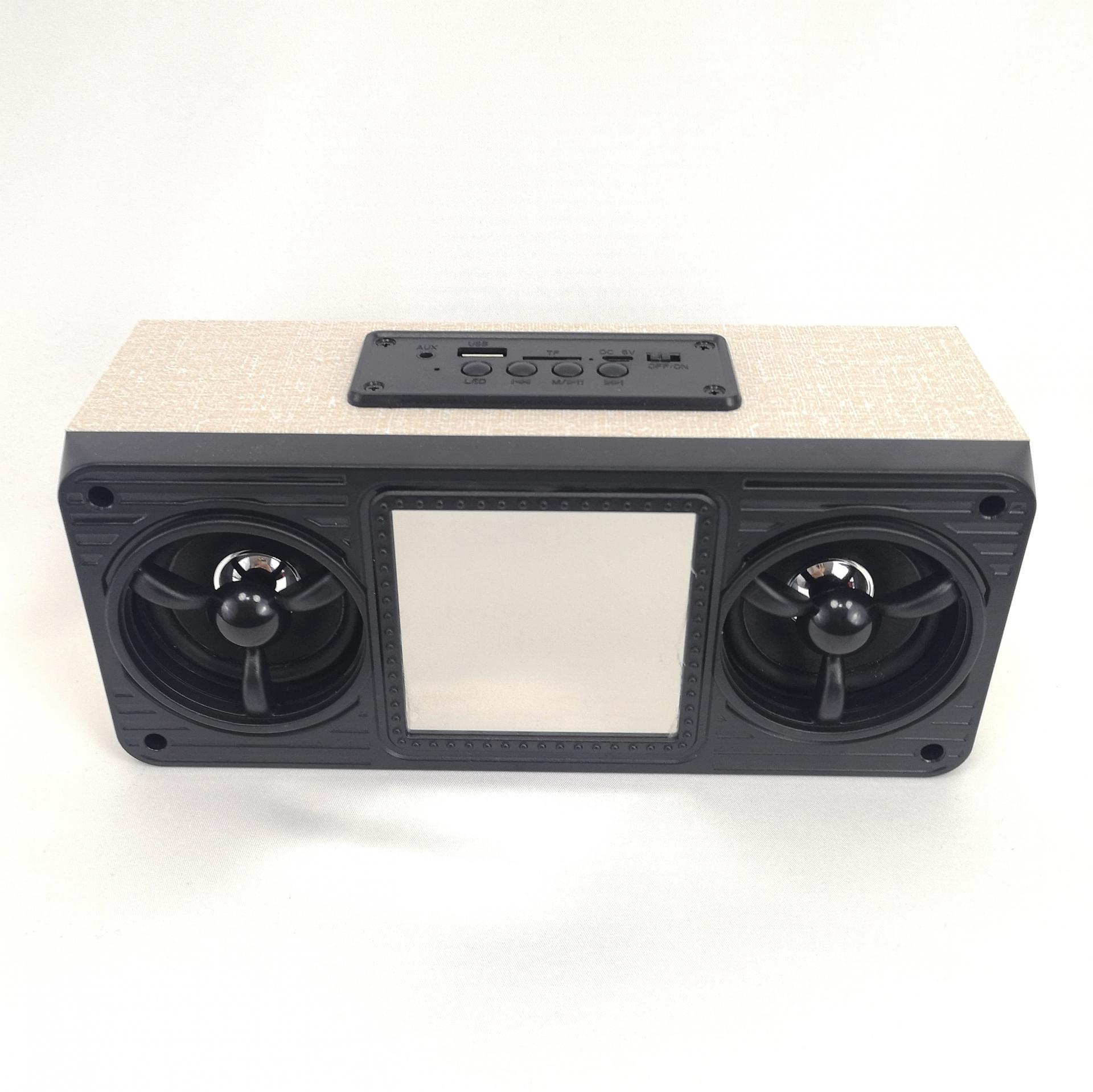 Radio Altavoz Bluetooth Digital Led , Radio FM, MicroSD, USB
