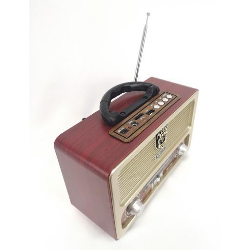Radio Vintage al mejor precio USB  [2]