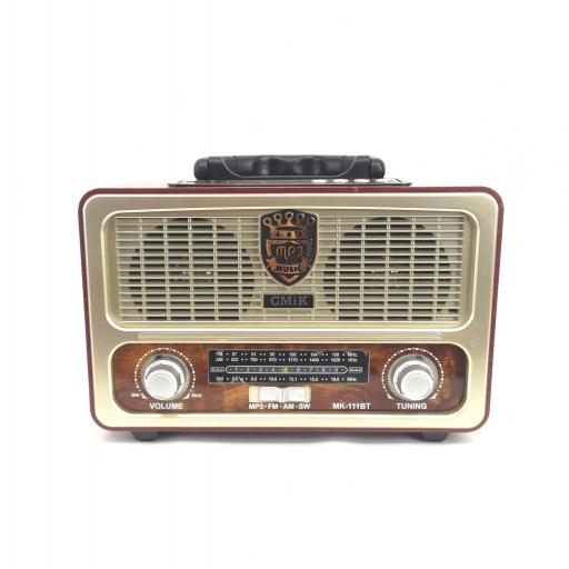 Radio Vintage MP3 bluetooth barata