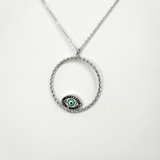 Collar ojo turco AliExpress