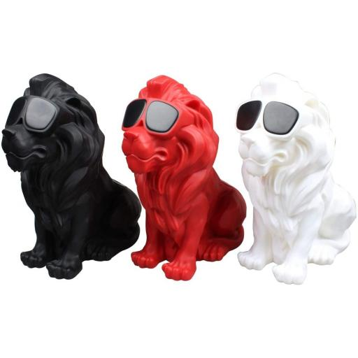 Altavoz inalámbrico con Bluetooth bulldog con collar pequeño