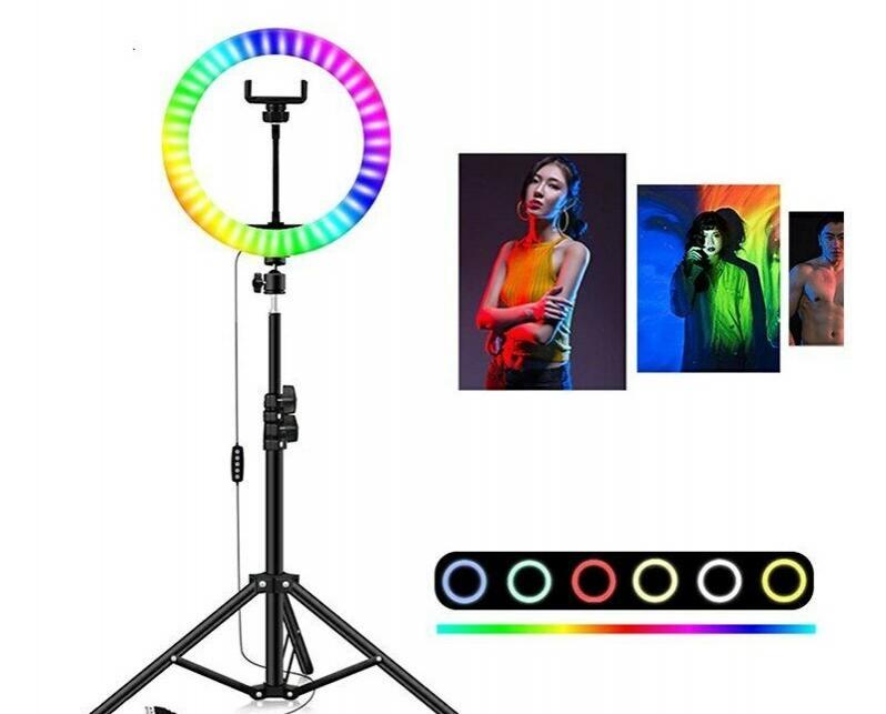 aro de luz colores barato 34