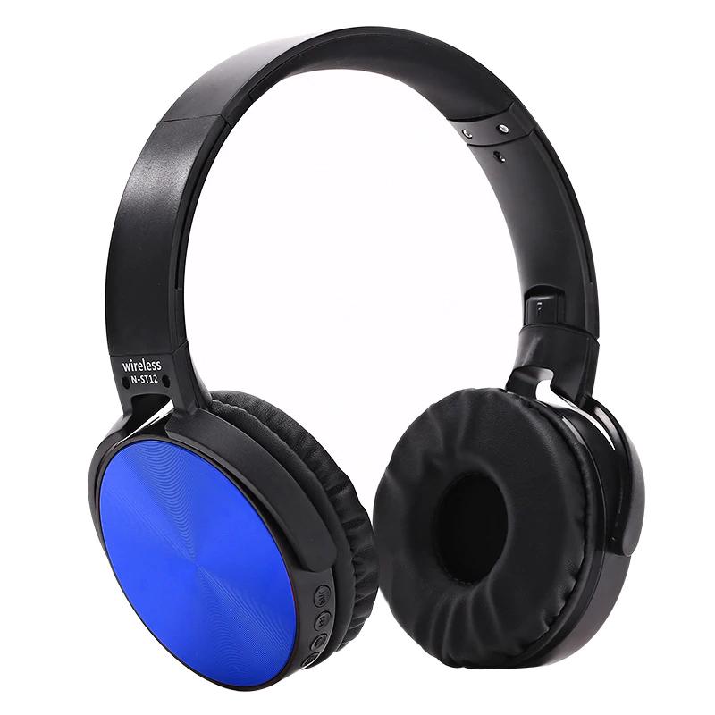 Auriculares azul cromado