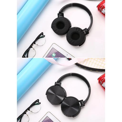 Auriculares negro cromado [1]
