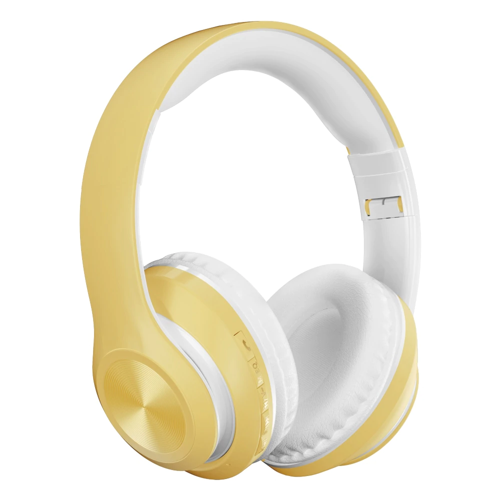 Auriculares marigold yellow bluetooth