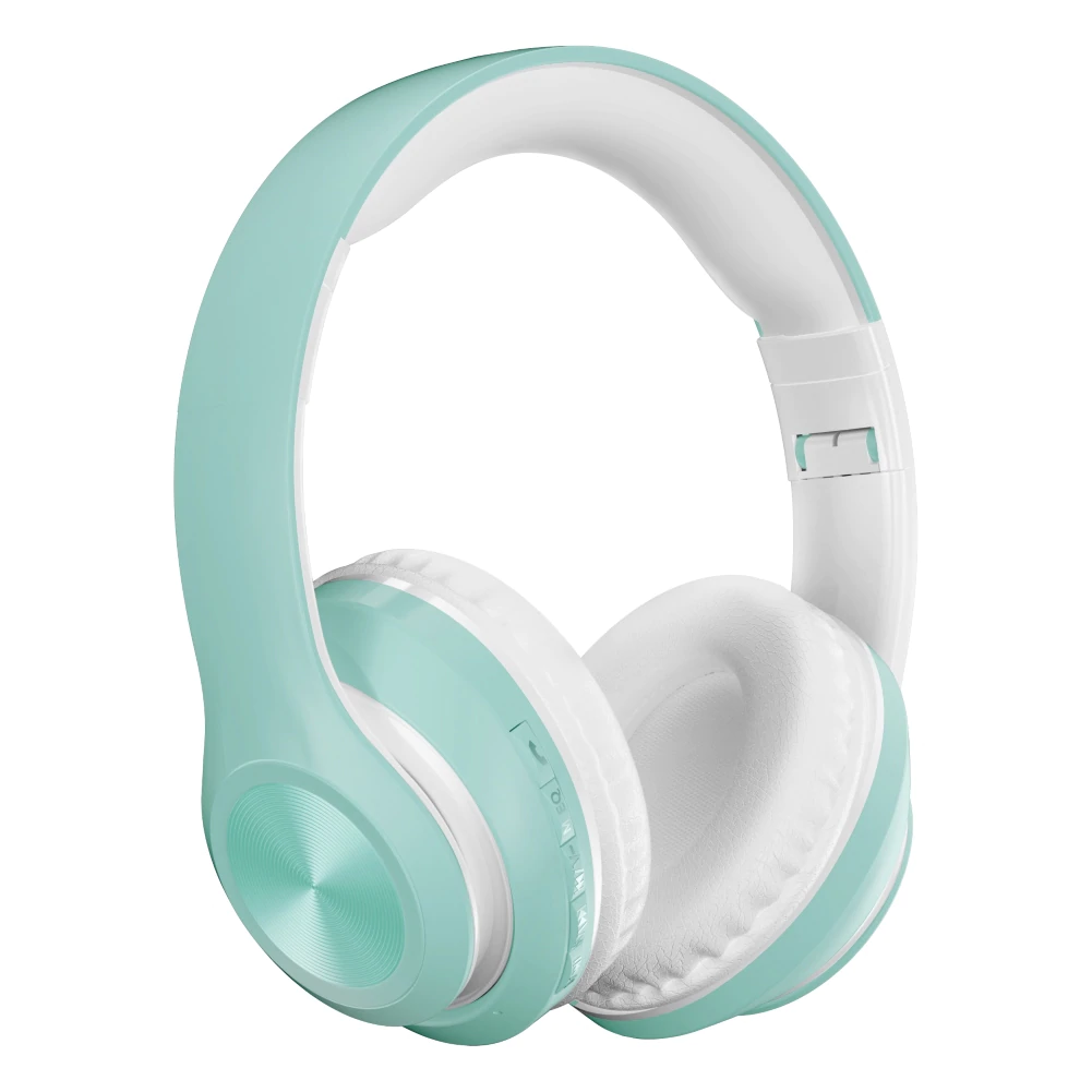 Auriculares baby blue bluetooth
