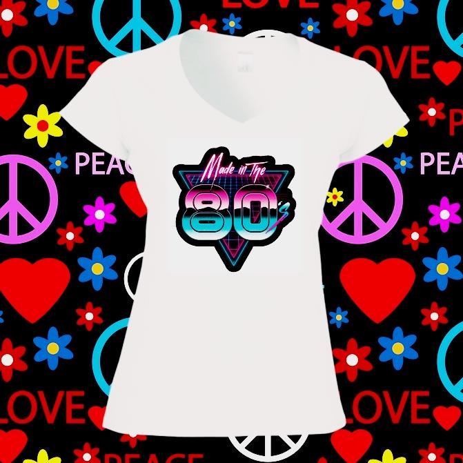 Camiseta mujer made in 80
