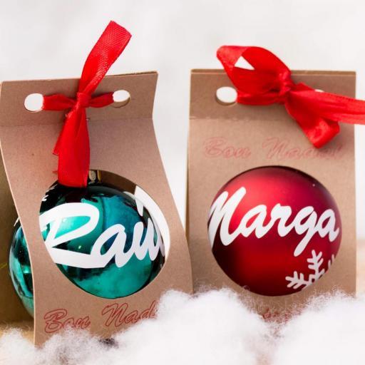Bolas de navidad con nombre [1]
