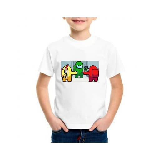 camiseta among us niño barata