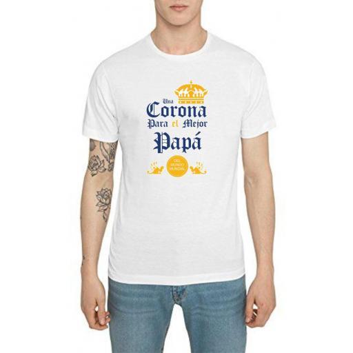 Camiseta coronita día del padre