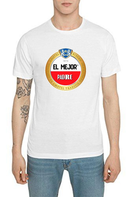 camiseta día del padre Amstel barata