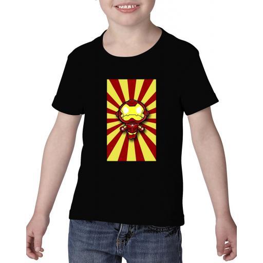 Camiseta niño mini iron man [1]