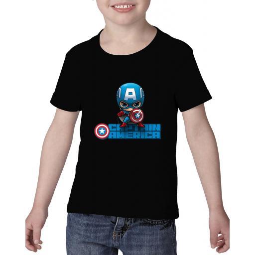 Camiseta niño mini capitán américa  [1]