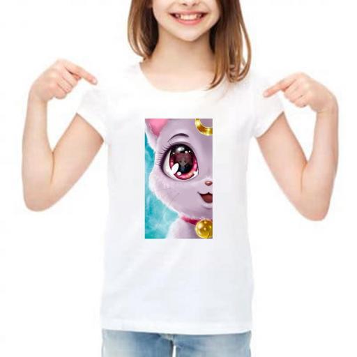 camiseta niña barata [0]