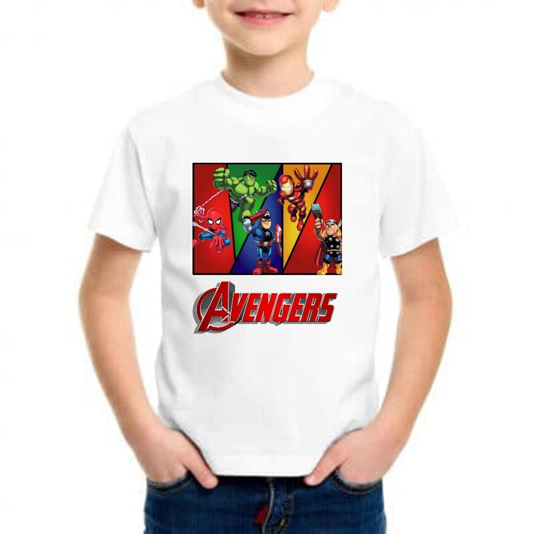 camiseta niño avengers barata