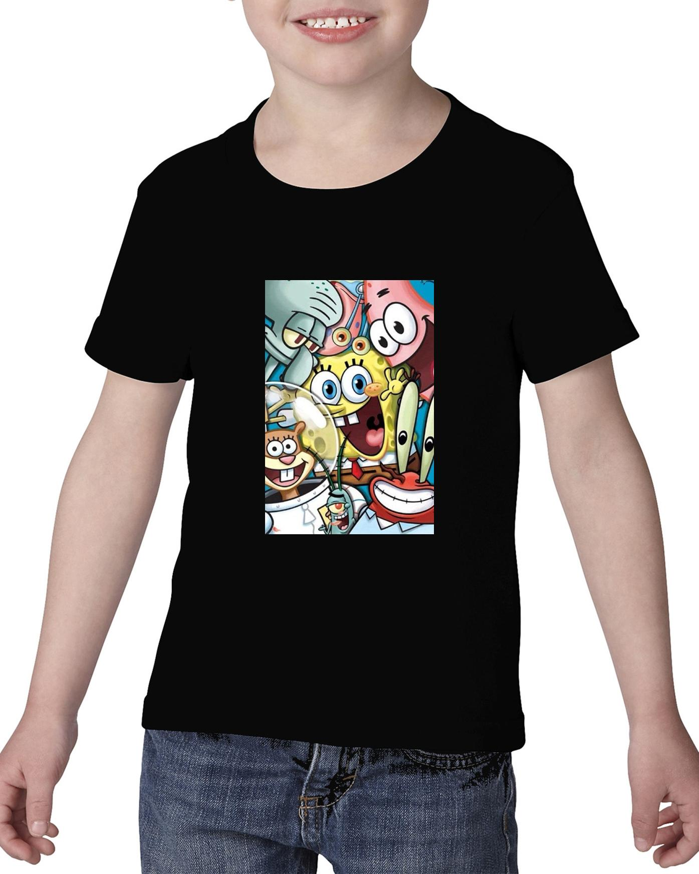 Camiseta niño bob esponja