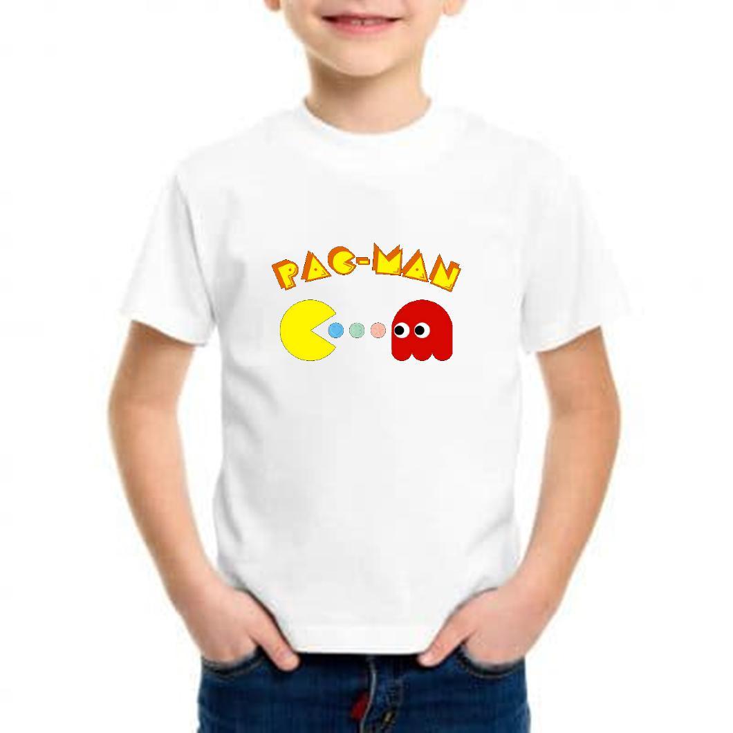 Camiseta niño pac-man barata
