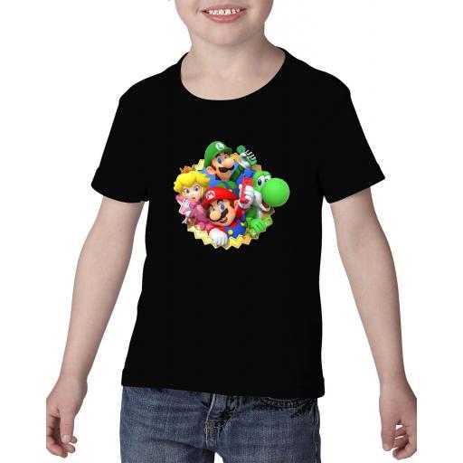 Camiseta niño mario bros personalizada [1]