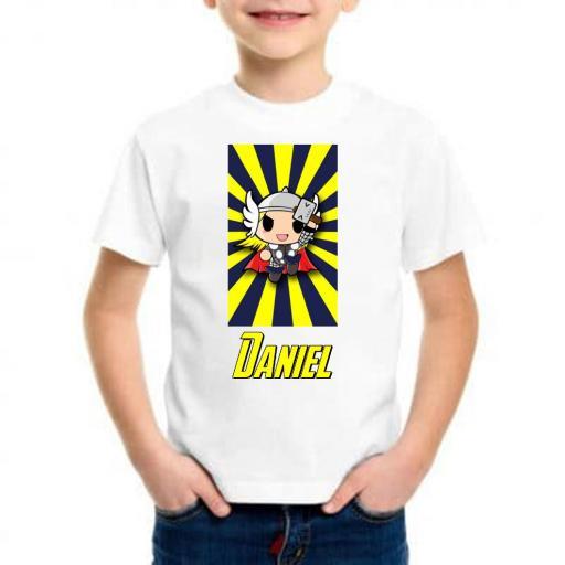 Camiseta niño mini thor barata
