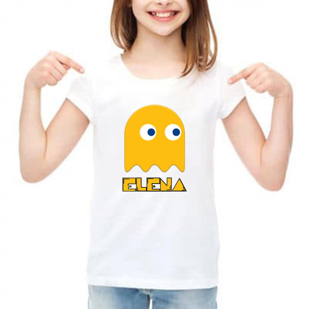 camiseta pac man niño barata