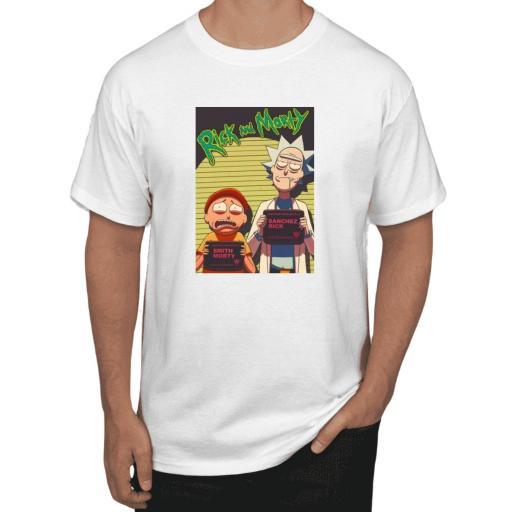 camiseta niño rick morty