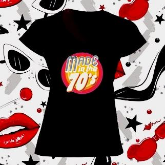 Camiseta mujer made in 1970