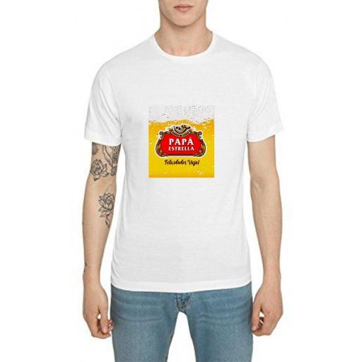 Camiseta papá Estrella