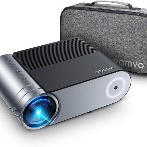 Proyector WiFi de vídeo portátil Vamvo L4200