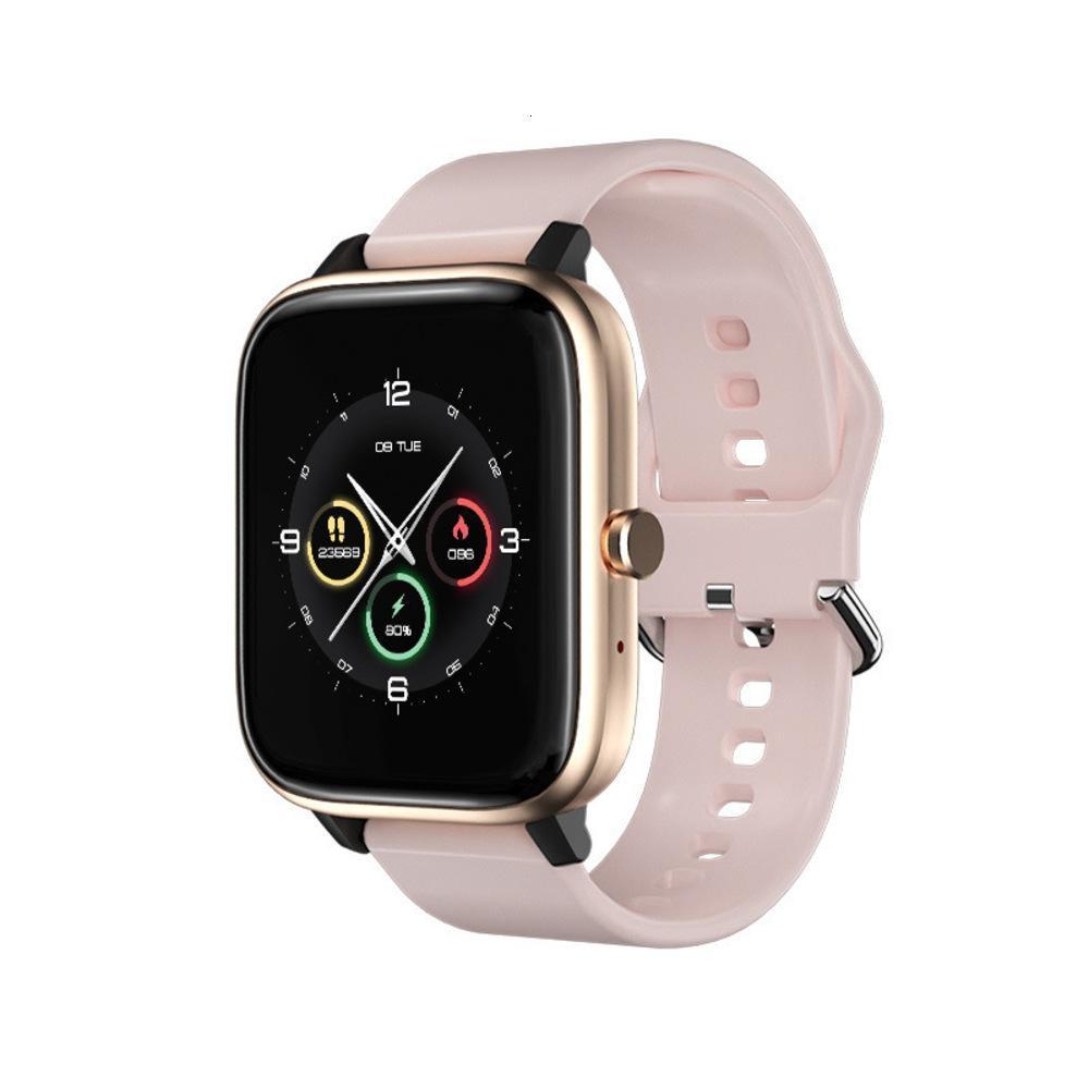 smart watch barato rosa