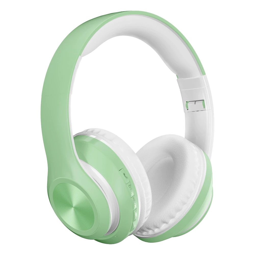 Auriculares verde menta
