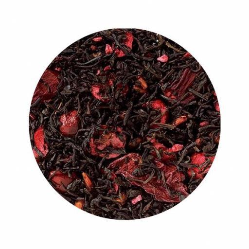 Té negro arandano