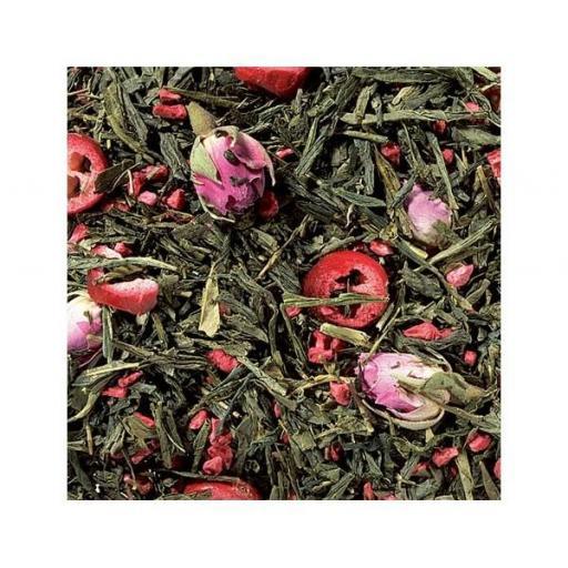 Té verde arandanos rosas [1]
