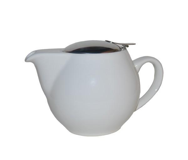 Tetera zaara blanca, porcelana 0,50 l.