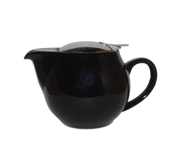 Tetera zaara negra, porcelana 0,50 l.