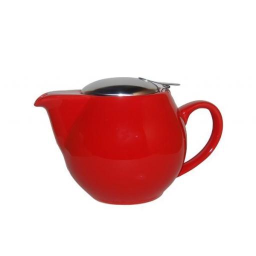 Tetera zaara roja, porcelana 0,50 l.