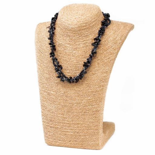 Collar Chip - Agata Negra
