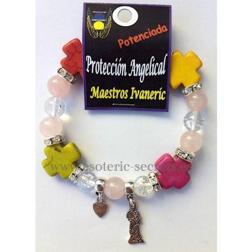 Pulsera Proteccion Angelical Ritualizada