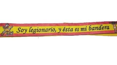 PULSERA BANDERA LEGION