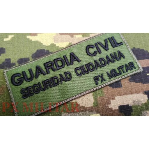 GALLETA GUARDIA CIVIL SEGURIDAD CIUDADANA.