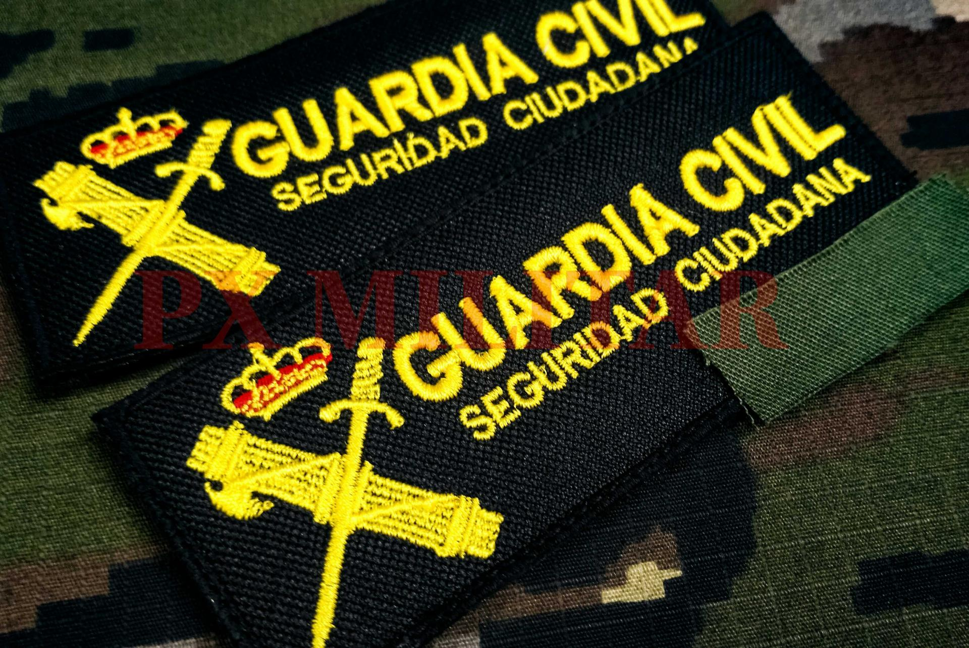 GALLETA SEGURIDAD CIUDADANA GUARDIA CIVIL COLOR