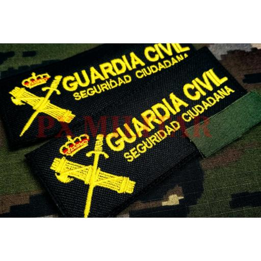 GALLETA SEGURIDAD CIUDADANA GUARDIA CIVIL COLOR [0]