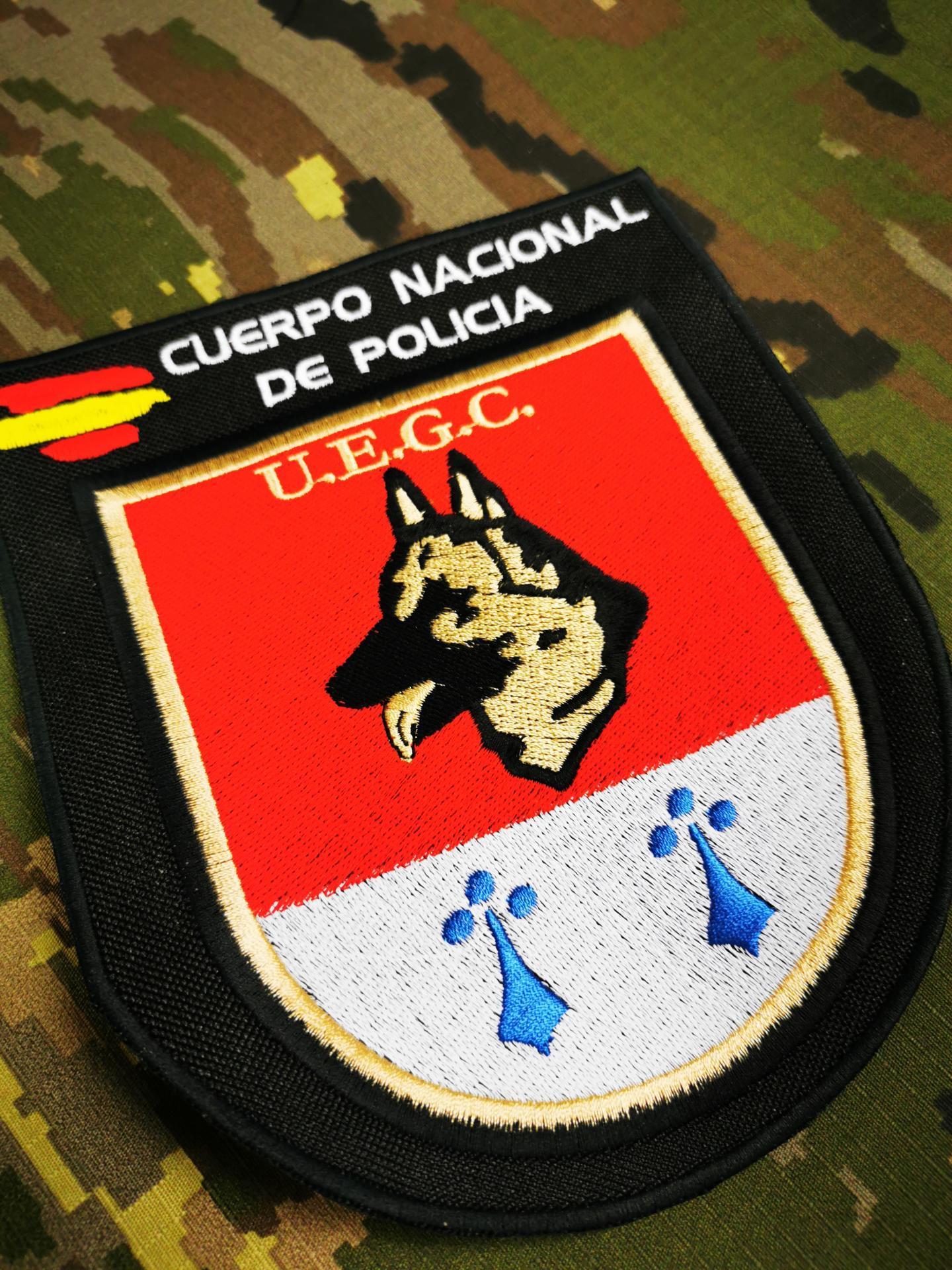 DISEÑO Y BORDADO DE TODO TIPO DE PARCHES MILITARES Y POLICIALES.