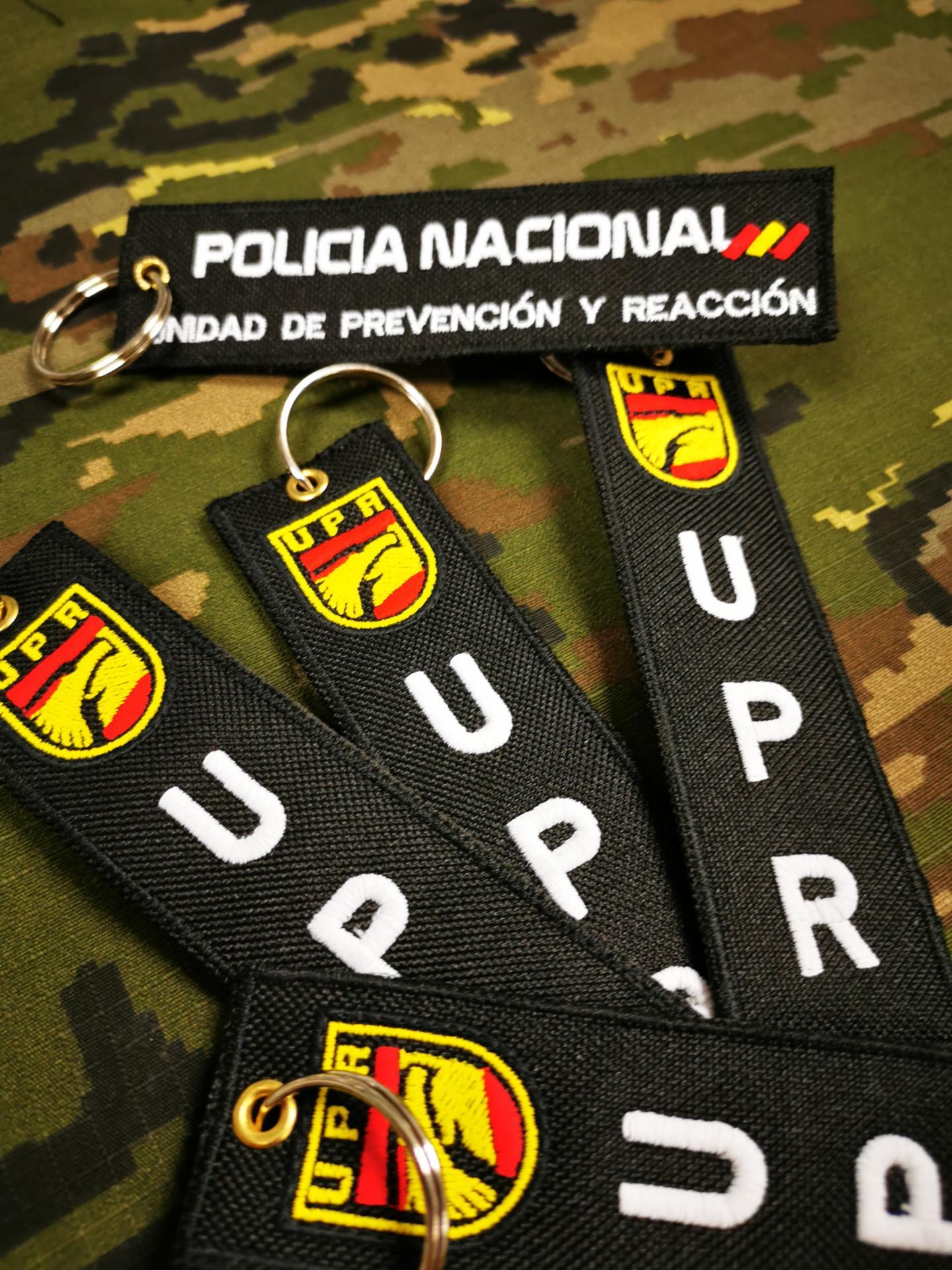 LLAVERO POLICÍA NACIONAL U.P.R